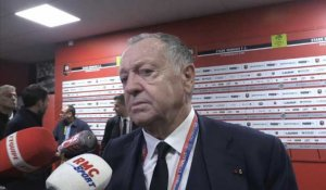 "OL - Aulas : ""Le club a besoin des supporters"""