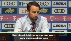 "Angleterre - Southgate : ""C'est inacceptable !"""