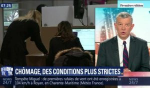 Chômage, des conditions plus strictes