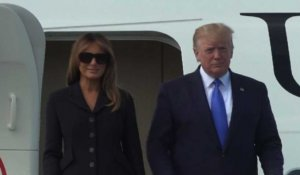 D-Day: Donald Trump arrive en Normandie