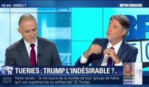 Tueries: Donald Trump l'indésirable ?