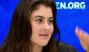 US Open 2019 - Bianca Andreescu plays her first round of eighth final in Grand Slam