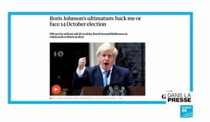 "Brexit : ""Boris-la-menace"""
