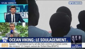 Ocean Viking: le soulagement