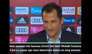 "Bayern - Salihamidzic : ""Cuisance a un grand potentiel et un grand talent"""