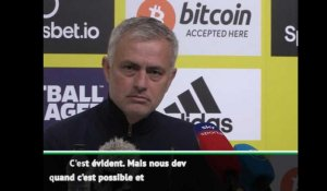 "Transferts - Mourinho : ""On signera un attaquant... si c'est possible"""