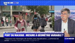 Port du masque: mesure à géométrie variable ? - 30/08