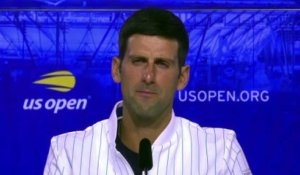 US Open 2020 - Novak Djokovic starts well despite a little bit of anger