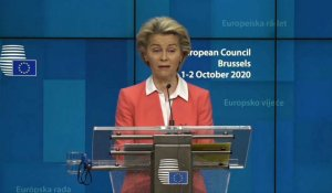 "Brexit: von der Leyen appelle à ""intensifier"" les discussions commerciales"