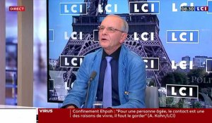 L'interview politique du 11 septembre : Axel Kahn, président de la Ligue Nationale Contre le Cancer