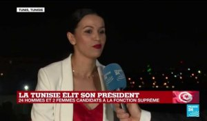 "Présidentielle en TUNISIE - ""On a envie que la Tunisie change"" : Habiba Ghribi"