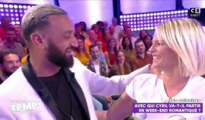TPMP : Kelly Vedovelli embrasse Cyril Hanouna 23/09/2019