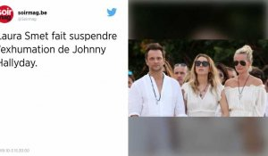 Exhumation du corps de Johnny Hallyday : Laura Smet obtient la suspension de la procédure