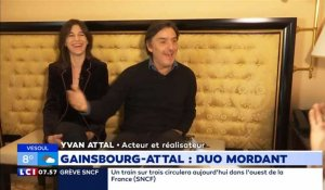 """Emmenez-Moi"" : Gainsbourg-Attal, duo mordant"