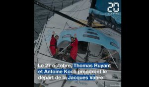 Transat Jacques Vabre: On a rencontré Thomas Ruyant