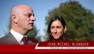 "Jean-Michel  Blanquer, ministre de l'Education nationale: ""l'avenir sera meilleur"""