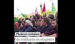 Extinction Rebellion : l'occupation du centre de Paris se poursuit
