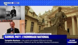 Samuel Paty : l'hommage national - 21/10