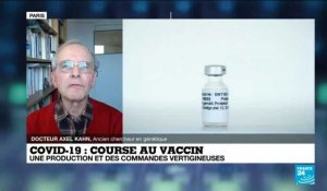Covid-19 : course au vaccin, production et commandes importantes