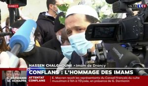 VIDEO - La déclaration d'Hassen Chalghoumi, à Conflans-Sainte-Honorine