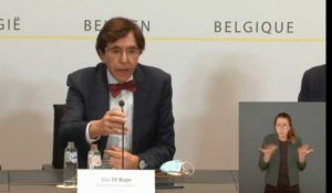 "Elio Di Rupo: ""Un lockdown sans isolement"""