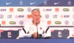 "Ligue des Nations - Deschamps : ""Difficile de comparer CR7 et Mbappé"""