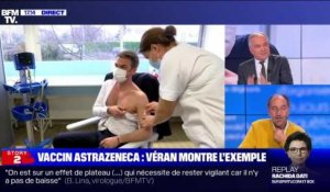 Story 2 : Vaccin AstraZeneca, Olivier Véran montre l'exemple - 08/02