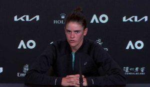 "Open d'Australie 2021 - Jennifer Brady : ""We'll just have to try to control the emotions on Saturday in the final against Naomi Osaka"""
