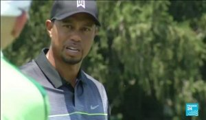 La star du golf Tiger Woods hospitalisé après un accident de la route