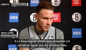 NBA. Blake Griffin vise le titre avec Brooklyn