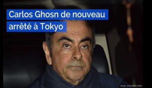 Carlos Ghosn de nouveau interpellé au Japon