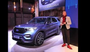 A bord du Ford Explorer Plug-in Hybrid (2019)