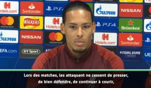 "Quarts - van Dijk : ""Beaucoup de de qualité et de talent à Liverpool"""