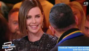 Charlize Theron recadre Cyril Hanouna en direct (TPMP) - ZAPPING PEOPLE DU 25/04/2019