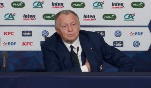 Demies - Aulas explique le timing de la prolongation de Genesio