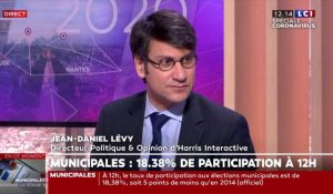 Participation à 12h : comment interpréter la baisse de participation, l'analyse de Jean-Daniel Lévy