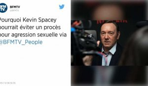 Le dossier d'agression sexuelle contre Kevin Spacey menace de s'effondrer
