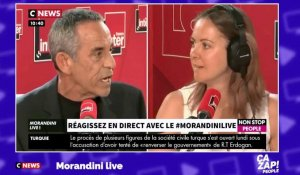 Thierry Ardisson règle ses comptes avec Charline Vanhoenacker en direct