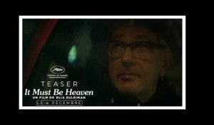 IT MUST BE HEAVEN | Teaser Taxi