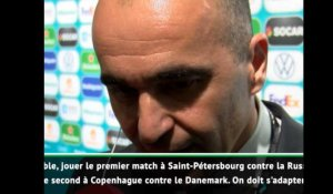 "Euro 2020 - Martinez : ""La pire combinaison possible"""