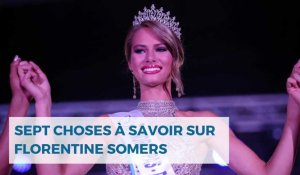 Sept choses à savoir sur Florentine Somers, candidate nordiste à Miss France 2020