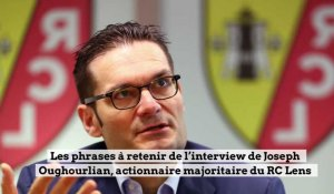 RC Lens: Joseph Oughourlian en interview dans La Voix des sports