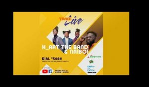 TRACELIVE presents H_ART the BAND X NaiBoi