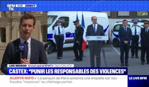 "Castex : ""Punir les responsables des violences"" (3) - 10/07"