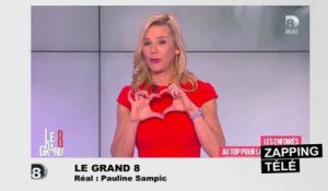 Le message d'amour de Laurence Ferrari à son mari en direct sur D8 !
