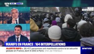 Manifestations en France: 164 personnes interpellées - 12/12