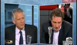 Interview Dominique de Villepin Partie 1