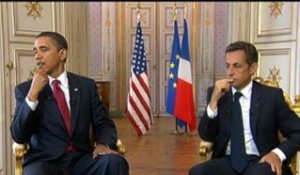 Point de presse conjoint avec M. Barack H. OBAMA