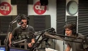 Klaxons - Black Cover - Session Acoustique OÜI FM