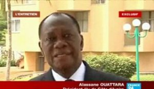 Interview exclusive d'Alassane Ouattara sur FRANCE 24